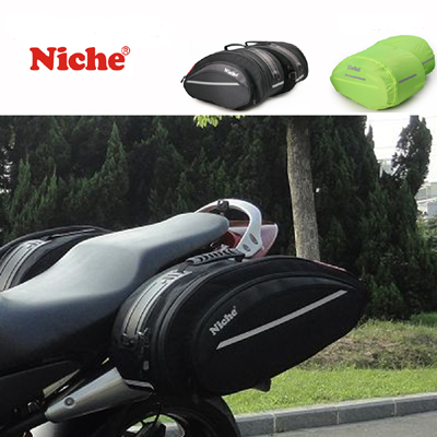 Niche motorcycle saddle bag is a cool soft bag for bike